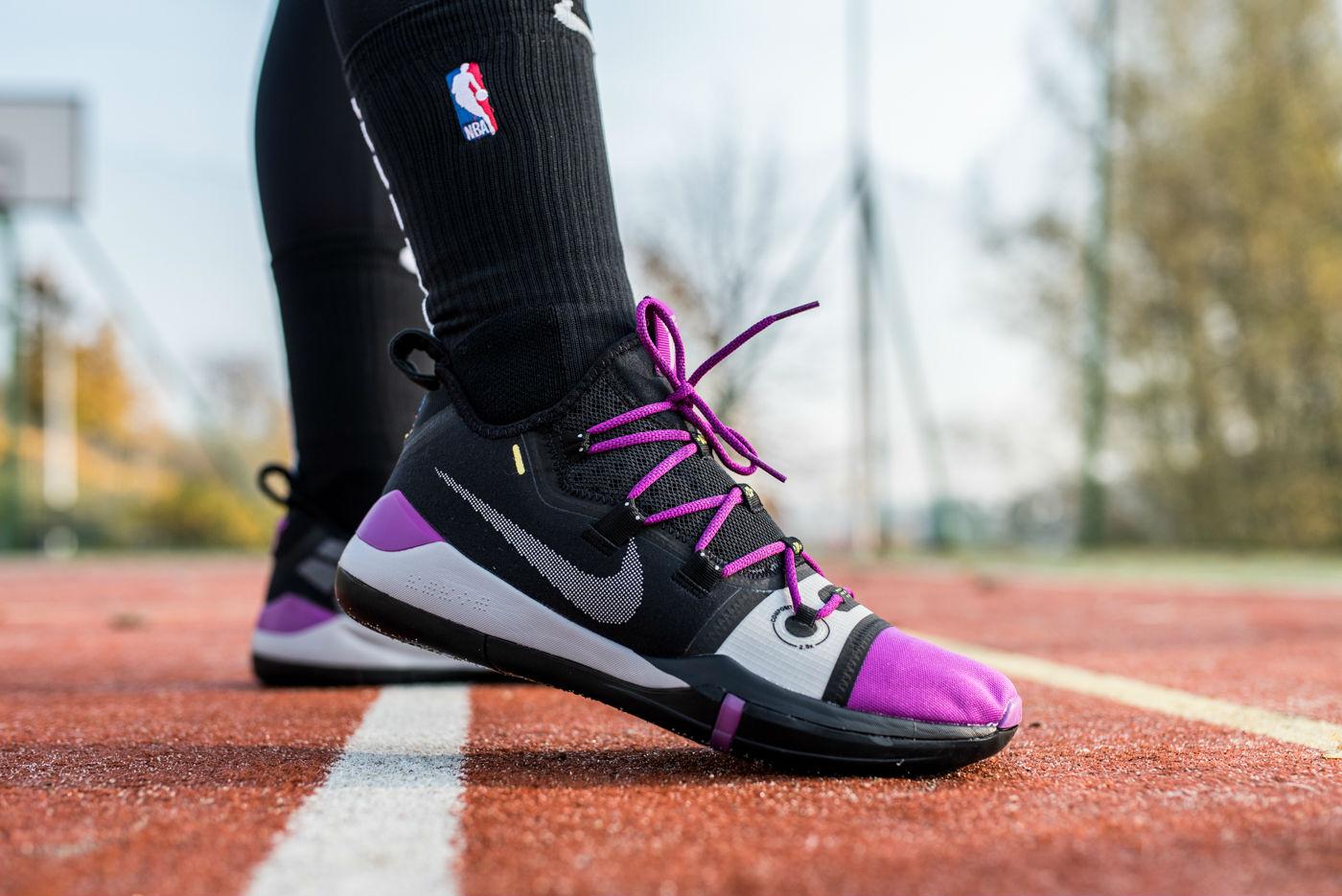 buy popular d86b2 df119 Available Now: Nike Kobe AD Black Purple • KicksOnFire.com