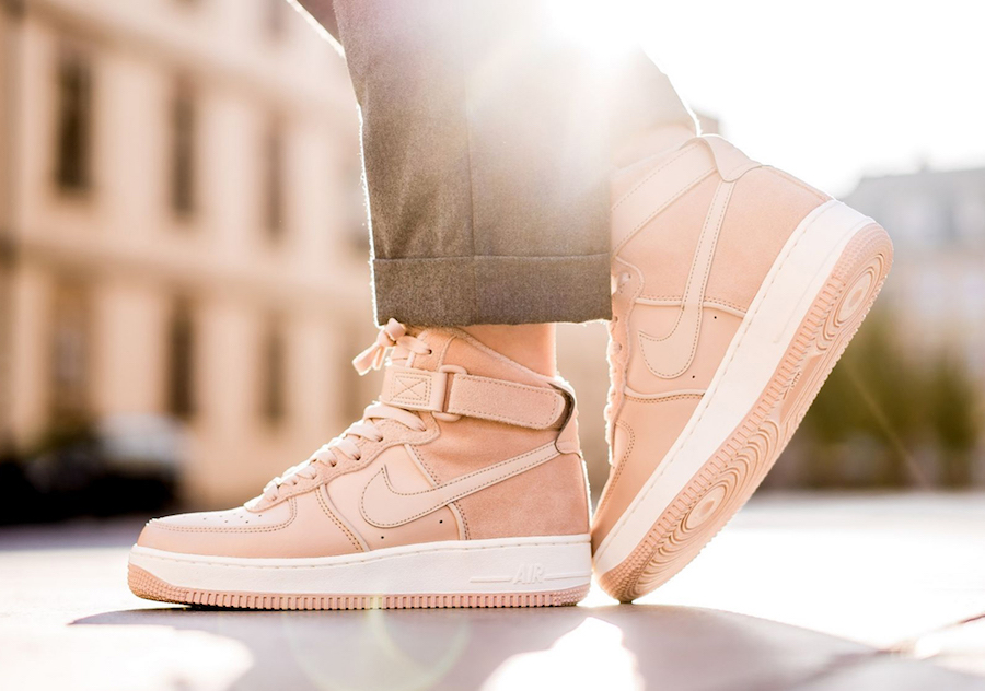 Check Out The Nike Air Force 1 High Bio Beige •