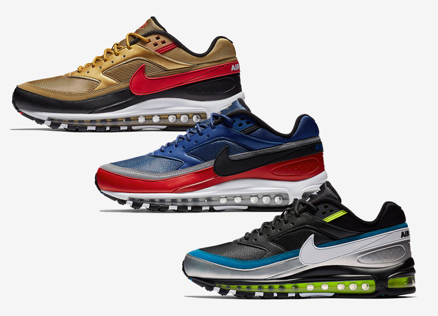 chaussures de sport 7cd61 358cd New Nike Air Max 97/BW Colorways Are On The Way ...