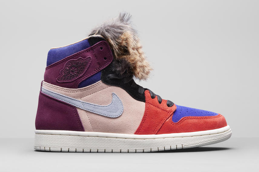 new product e1624 d6f08 The Aleali May x Air Jordan 1 WMNS Court Lux High Top OG Is ...