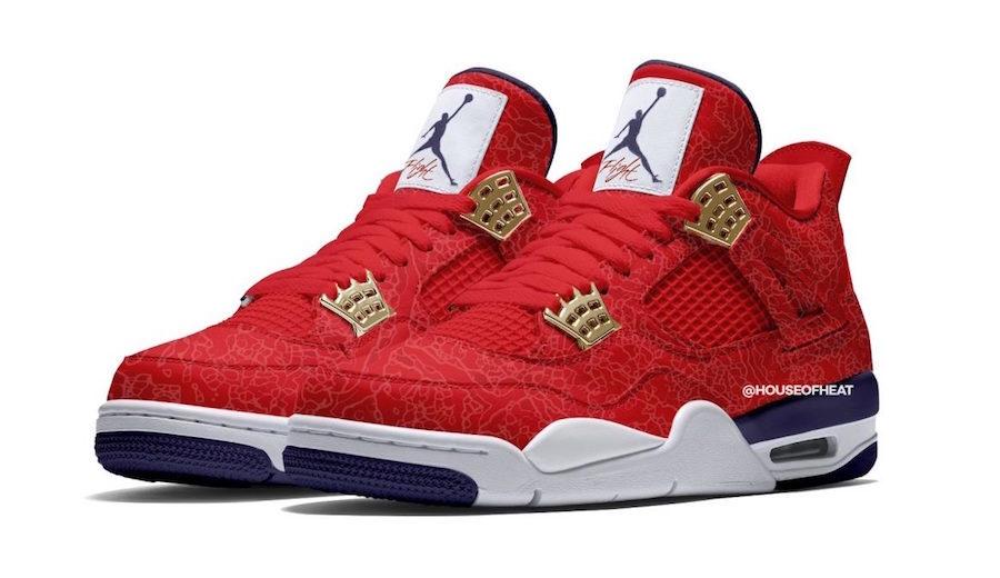Air Jordan 4 SE FIBA •