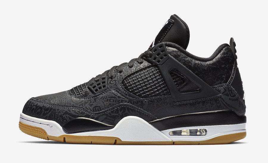 Air Jordan 4 SE Laser Black Gum