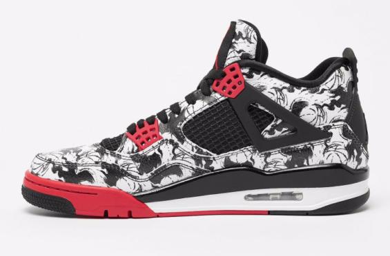 Air Jordan 4 Tattoo • KicksOnFire.com