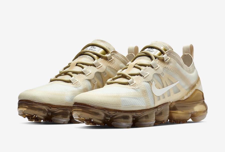 Nike WMNS Air VaporMax 2019 White Gold