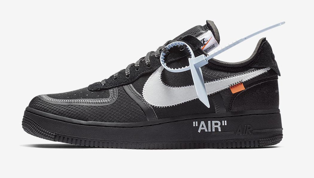 x Nike Air Force 1 Low Black