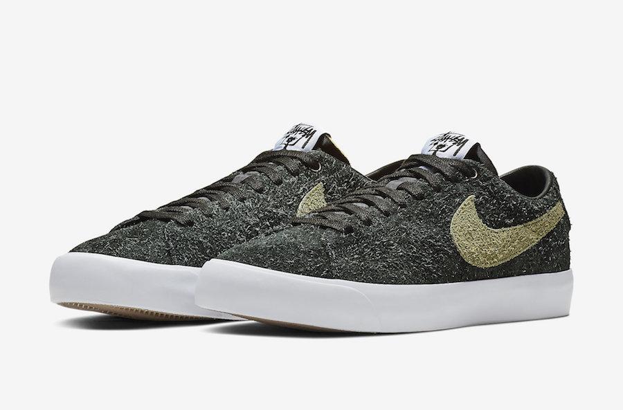 new photos bd2a7 04de4 Release Date: Stussy x Nike SB Blazer Low • KicksOnFire.com