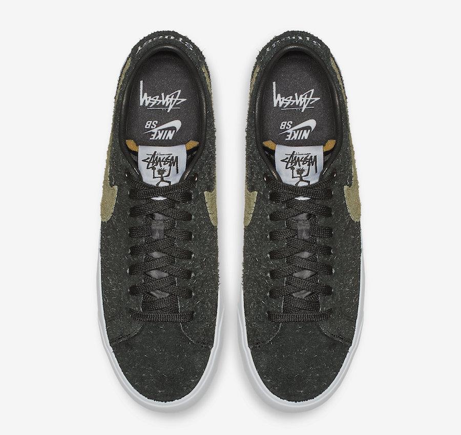 new photos af06c 2a14c Release Date: Stussy x Nike SB Blazer Low • KicksOnFire.com