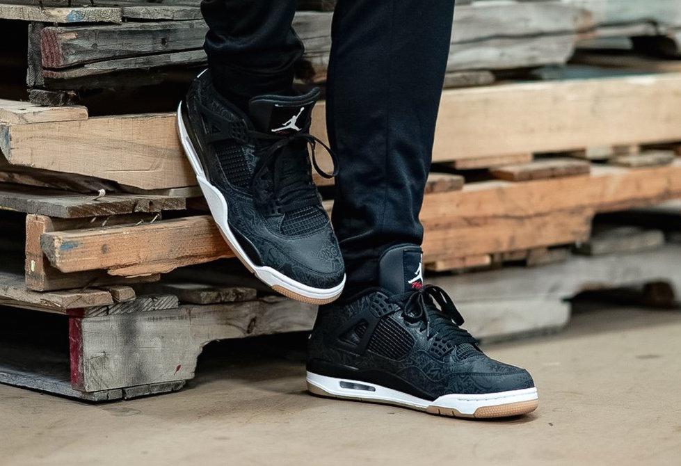 finest selection d9bfc 3f233 Air Jordan 4 SE Laser Black Gum • KicksOnFire.com