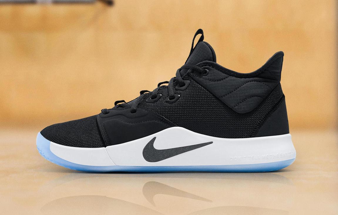 Release Date: Nike PG 3 Black White