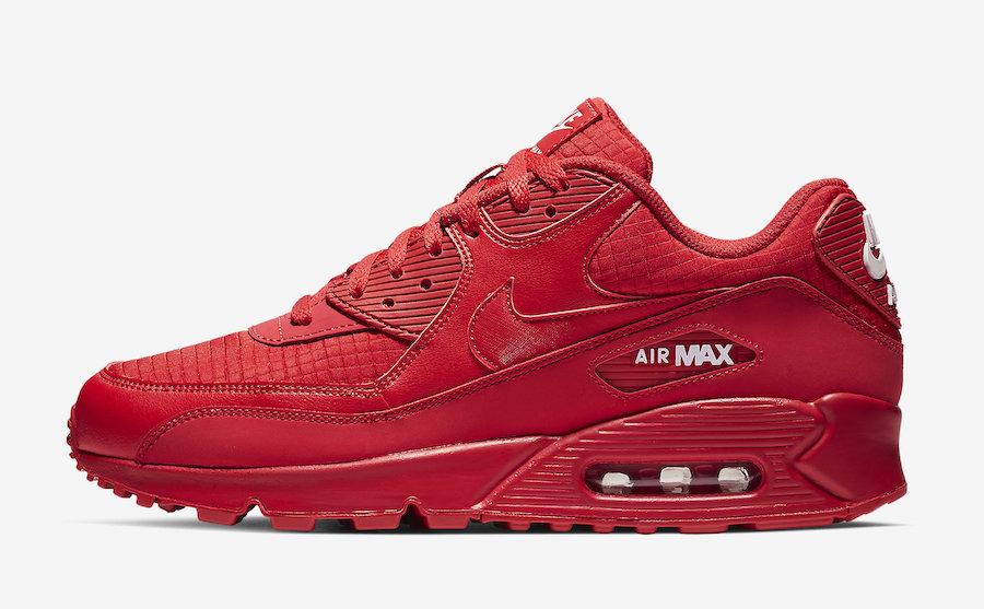 Nike Air Max 90 Essential Releasing In University Red