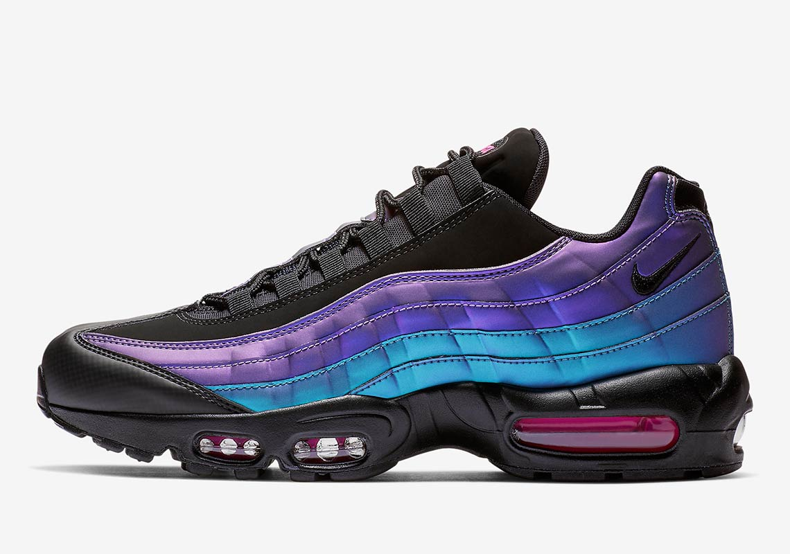 Bold Iridescent Colors Hit The Nike Air