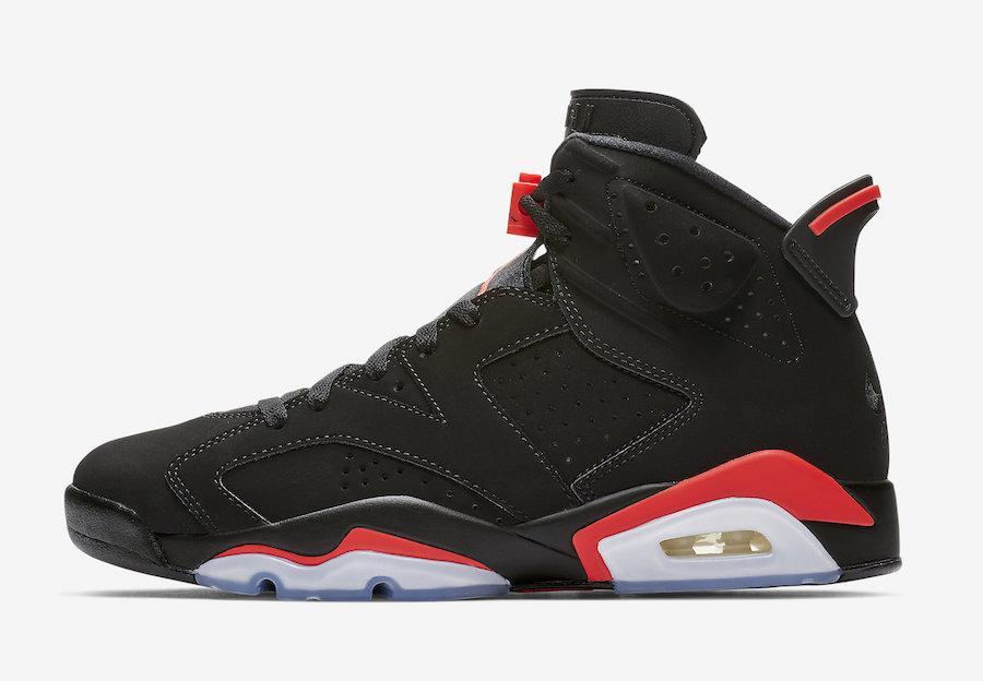 sports shoes 70dcc a4749 Air Jordan 6 Black Infrared OG 2019 • KicksOnFire.com