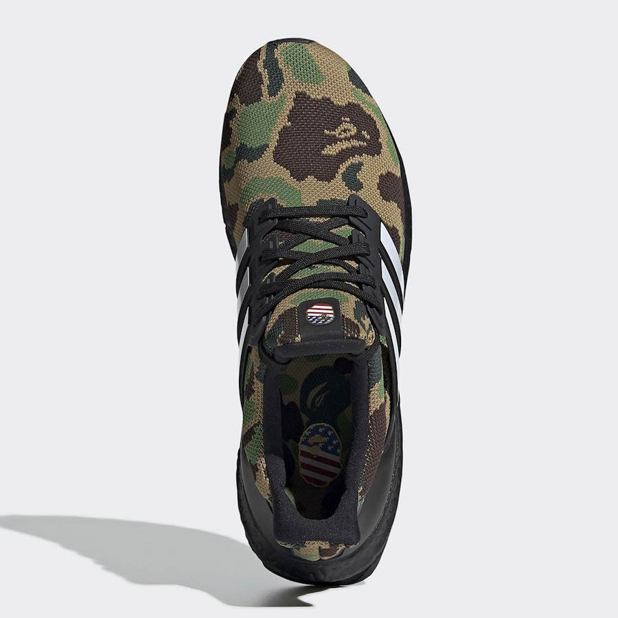 reputable site 38d2d 10356 Official Images: BAPE x adidas Ultra Boost Camo Pack ...