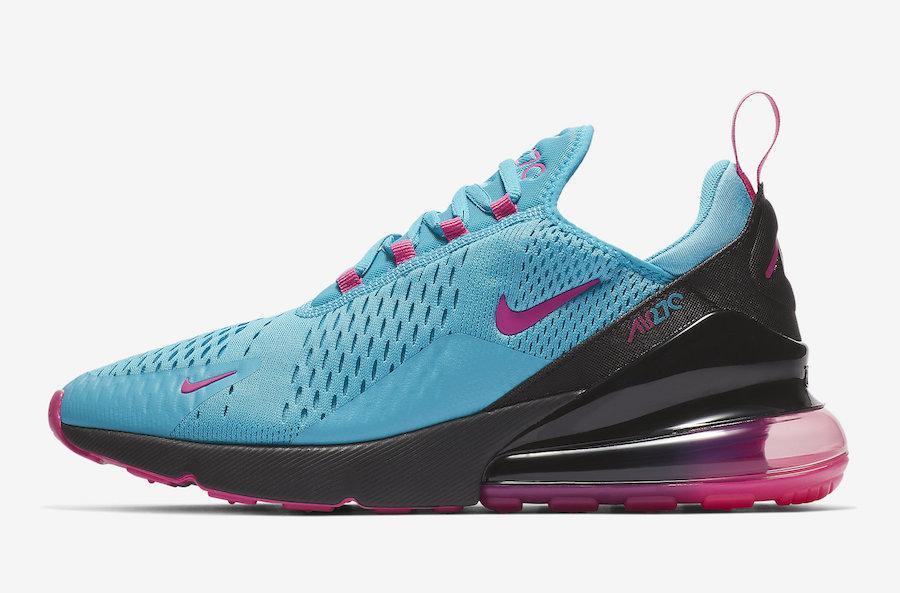 Coming Soon: Nike Air Max 270 Aqua Pink