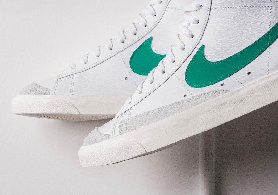 auténtico disfruta del precio inferior calidad estable The Nike Blazer Mid 77 Vintage Lucid Green Releases Next Week ...