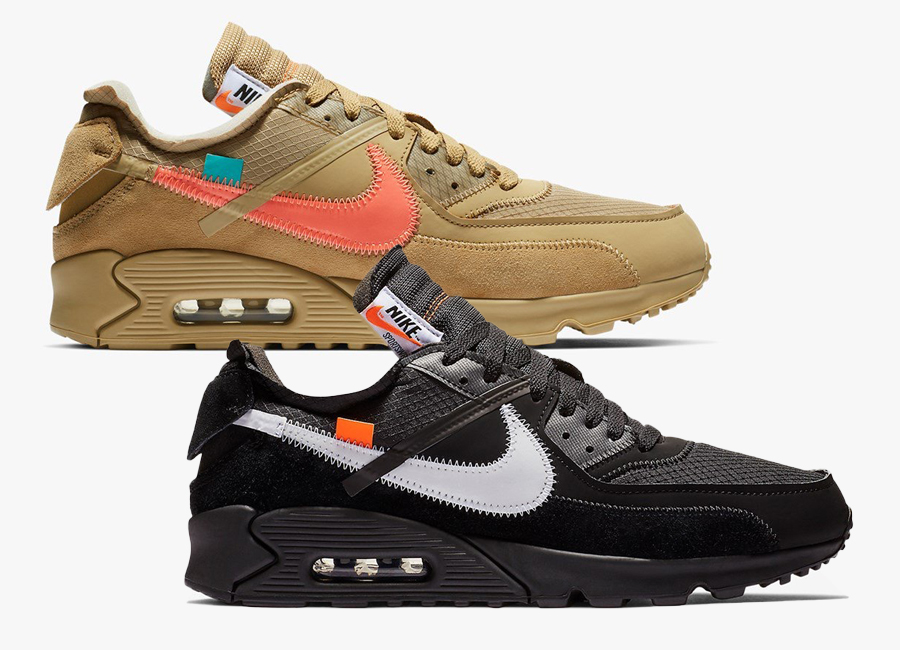 Release Date For Both OFF WHITE x Nike Air Max 90 Colorways