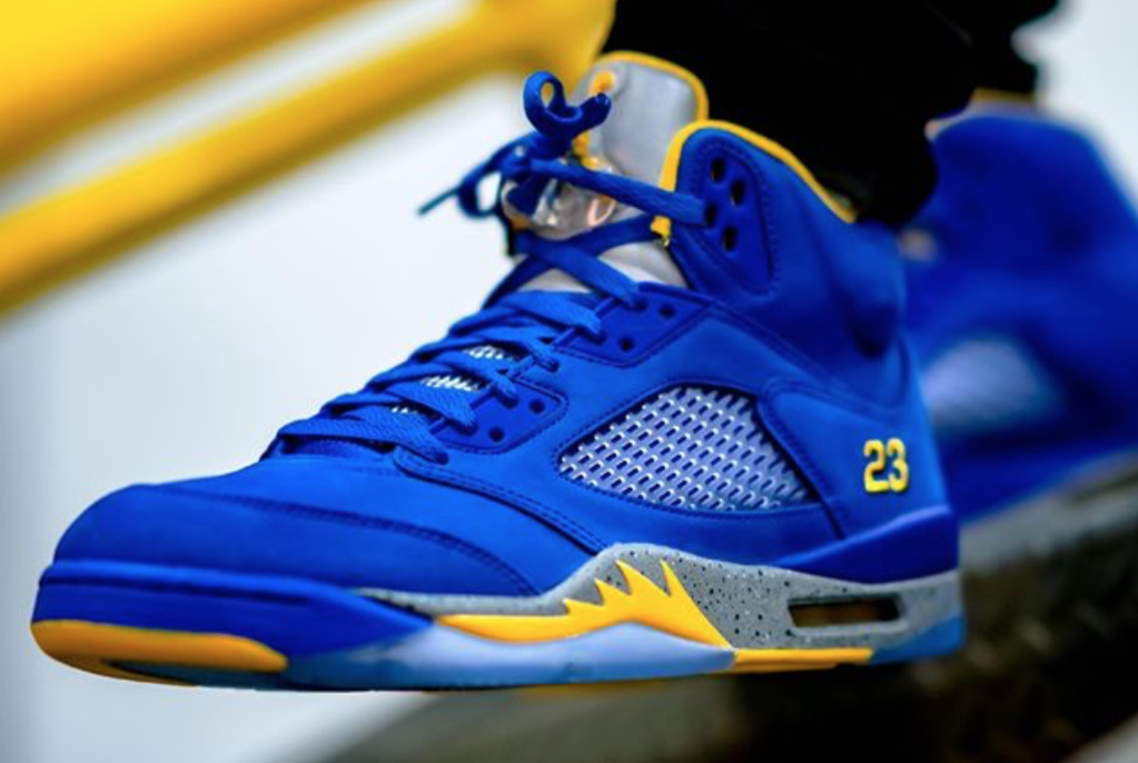 united kingdom pretty cheap classic shoes Air Jordan 5 Laney JSP Varsity Royal Available To Buy Here ...