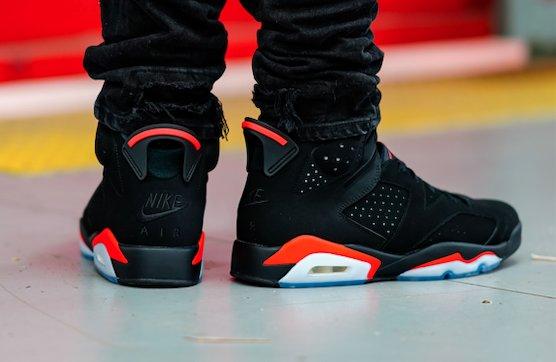 sports shoes 021c7 9fe2a Air Jordan 6 Black Infrared OG 2019 • KicksOnFire.com