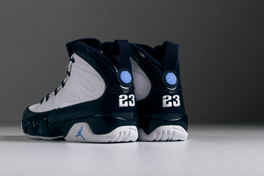 the best attitude 91094 c2516 Get The Air Jordan 9 UNC (Pearl Blue) Early Here ...