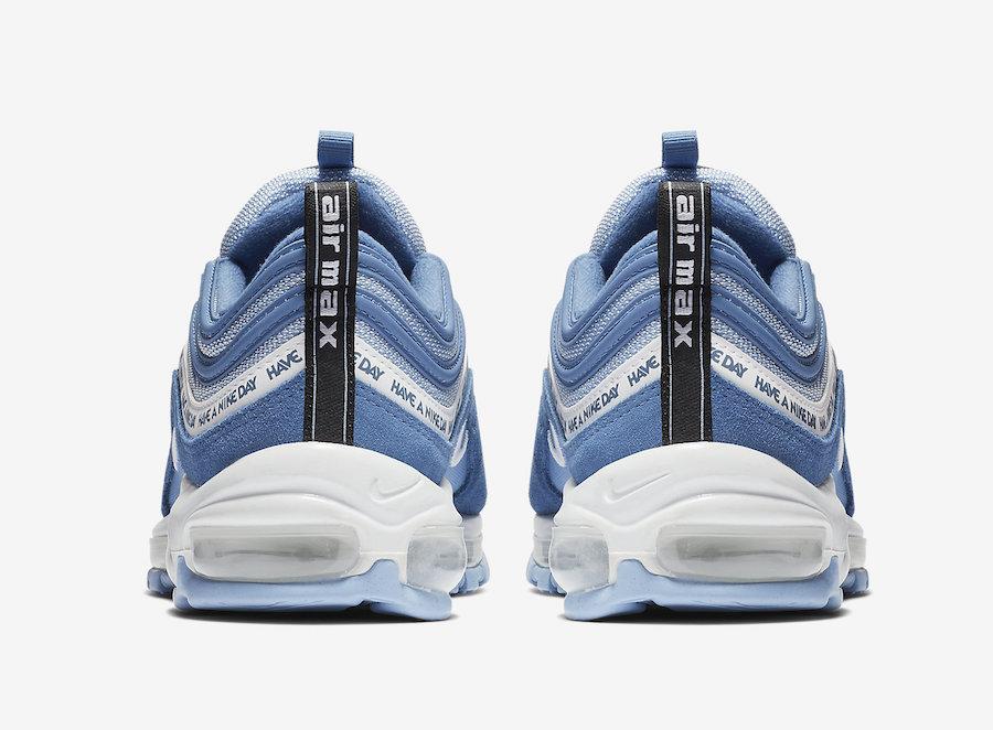 Detalles acerca de Nike Max 97 ND tienen un Air Nike Indigo tormenta Blanco Hombres Zapatos Day BQ9130 400 mostrar título original