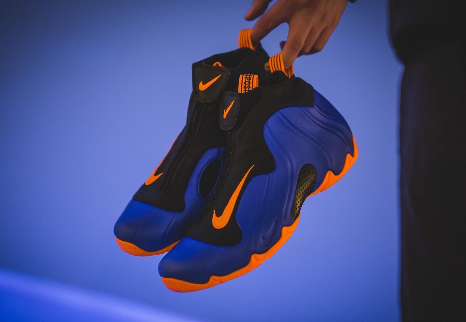 Nike Air Flightposite Knicks A Must Cop