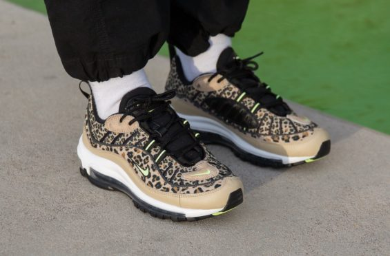 Look Out For The Nike WMNS Air Max 98 Premium Leopard Desert