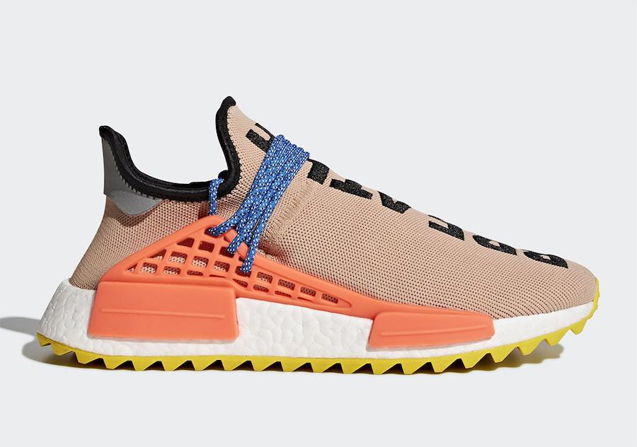 Pharrell adidas NMD Hu Solar + Holi Restock Info