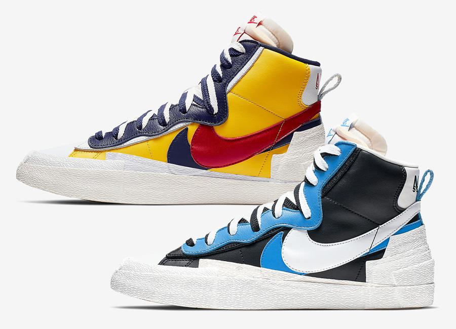 Sacai x Nike Blazer Mid