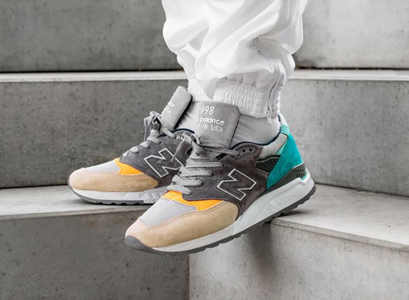 new balance on feet