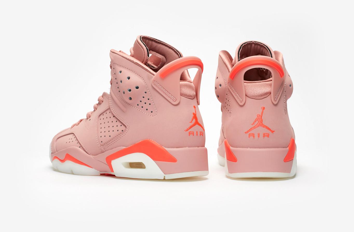 best website 5fbcd fb1f2 Aleali May x Air Jordan 6 Millennial Pink • KicksOnFire.com