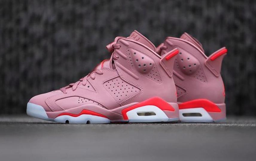 best website 3d707 e06f8 Aleali May x Air Jordan 6 Millennial Pink • KicksOnFire.com