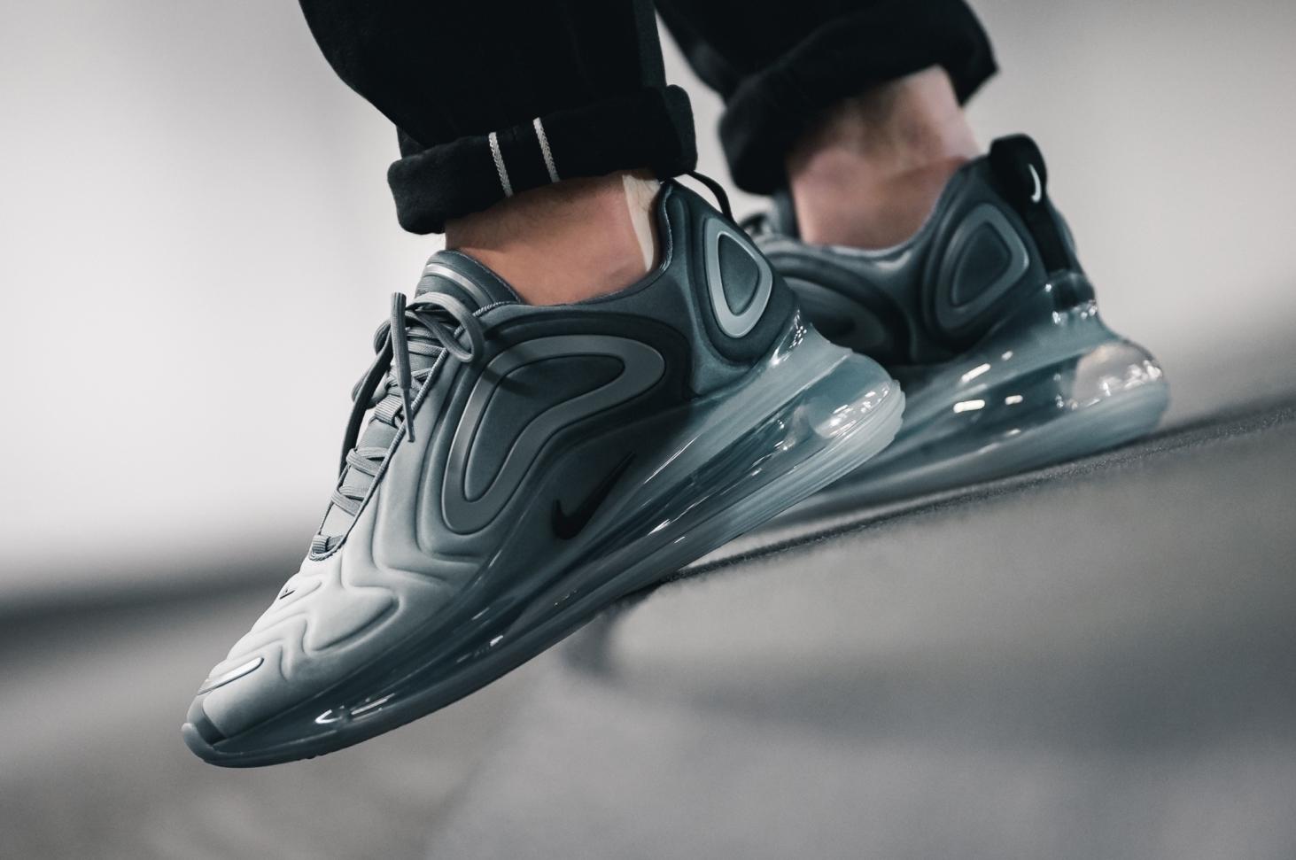 Air Max 720 On Feet Grey