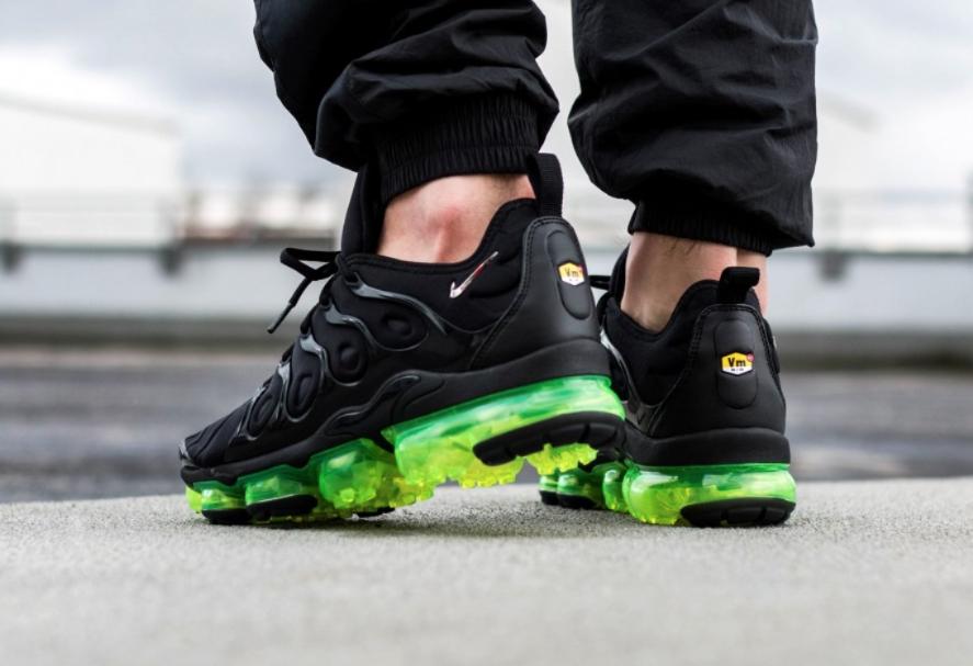 Get Ready For The Nike Air VaporMax Plus Black Volt • KicksOnFire.com