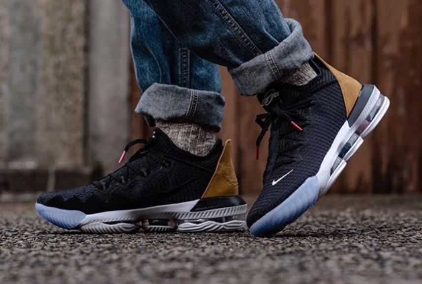 Tierra Oxidado escaramuza  Get Ready For The Nike LeBron 16 Low Black Tan • KicksOnFire.com