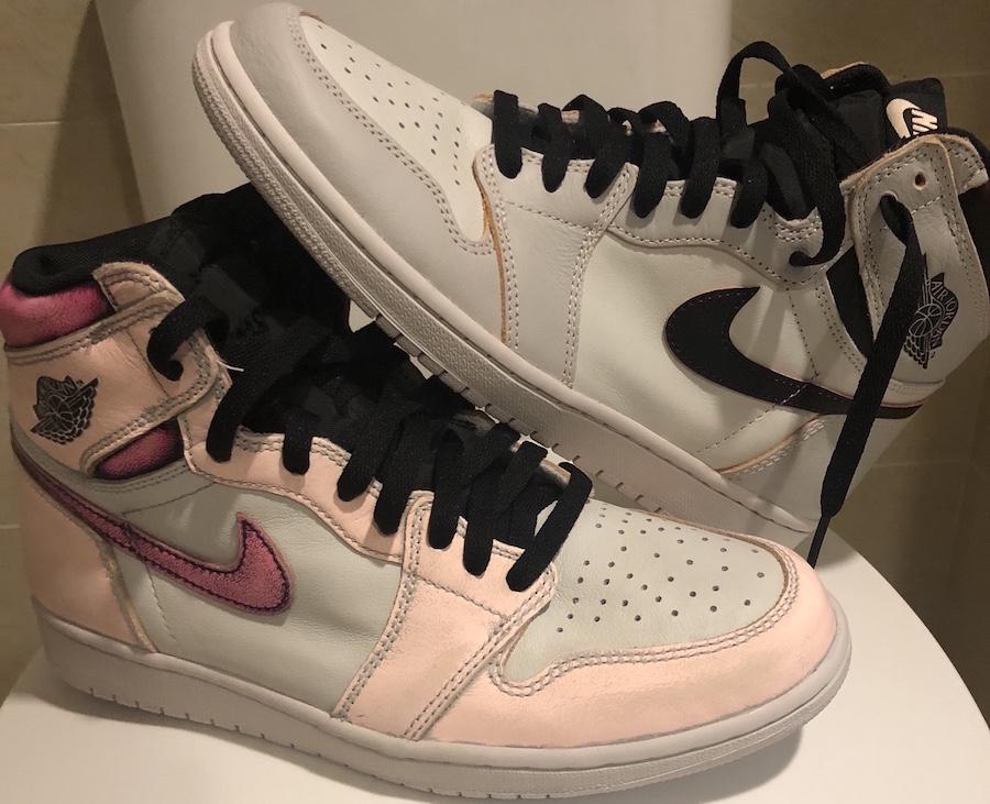 Nike SB x Air Jordan 1 Retro High OG Light Bone (NYC to ...