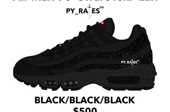 recognized brands lace up in lace up in Supreme x Nike Air Max 95 Lux Swarovski Pack To Release In ...