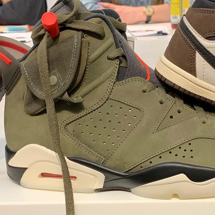new product f56e3 db47c Travis Scott Gives Us Another Look At His Air Jordan 6 ...