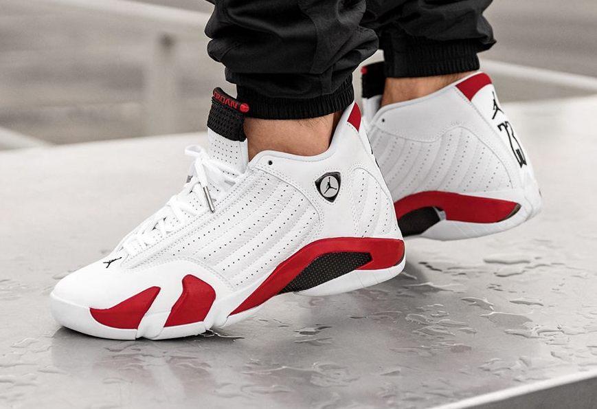 sale retailer 8aba3 e33b6 Air Jordan 14 Candy Cane 2019 • KicksOnFire.com