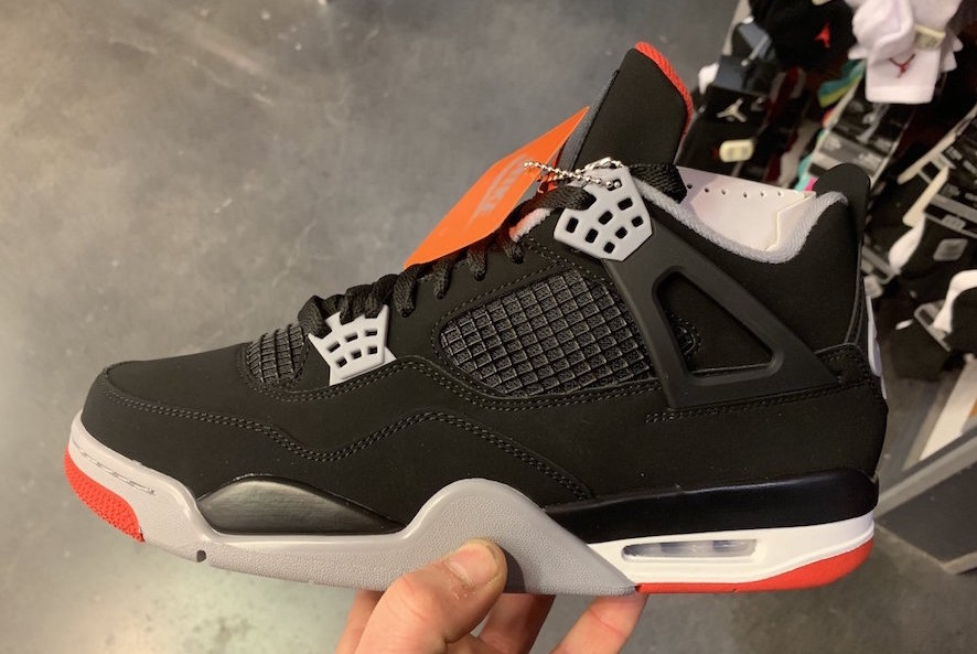 Agacharse claridad Dental  OG Nike Air Tag Returning On Air Jordan 4 Bred 2019 • KicksOnFire.com