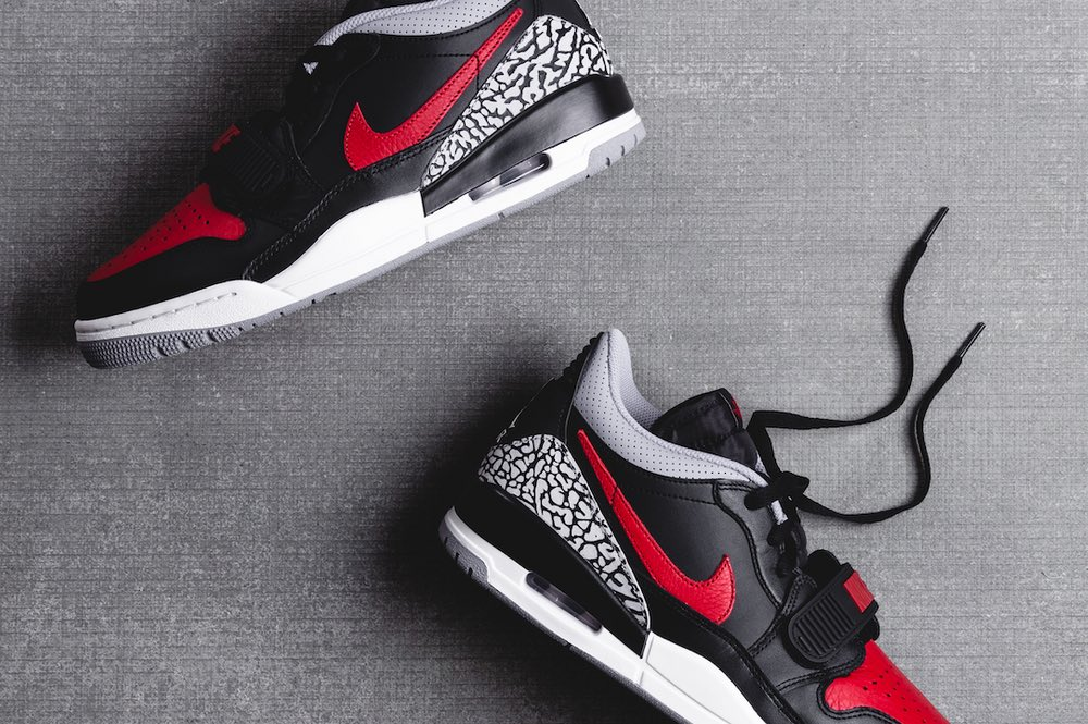 buying new low priced genuine shoes Jordan Legacy 312 Low Bred Cement Arriving At Retailers ...