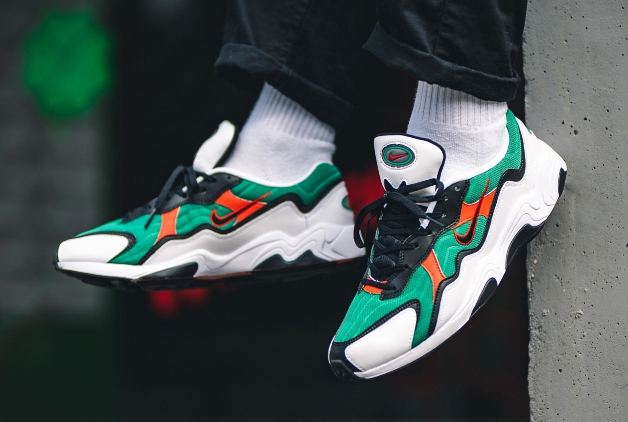 Nike Air Zoom Alpha Lucid Green Habanero Red Arriving This