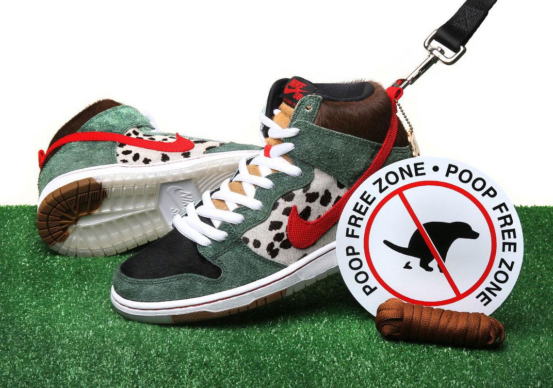 Nike SB Dunk High Dog Walker