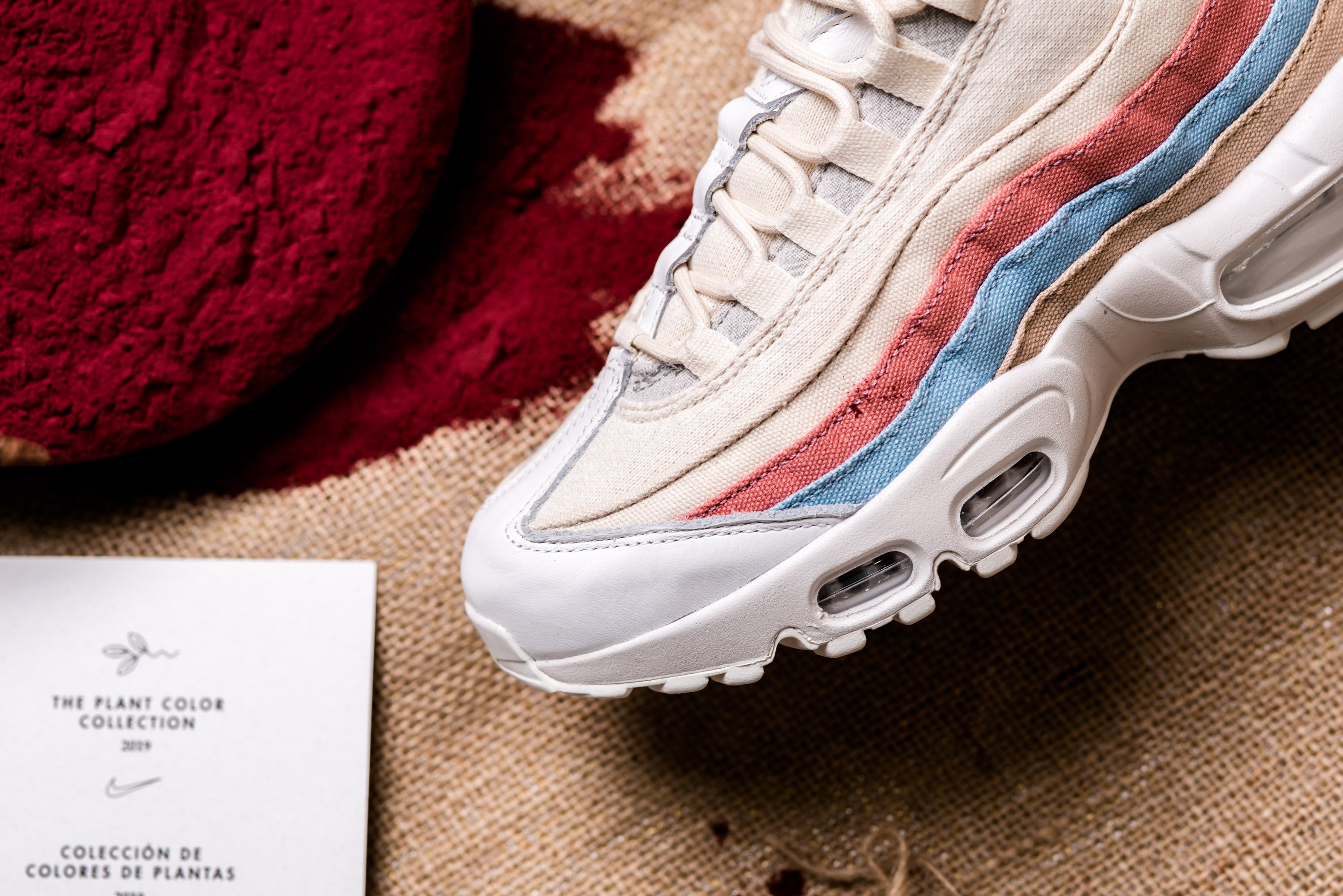 Buy The Nike WMNS Air Max 95 Plant Color Crimson Tint Here