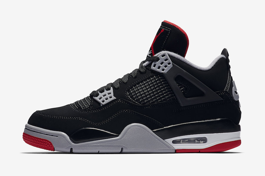 on sale 15564 df99d Air Jordan 4 Bred (2019) • KicksOnFire.com