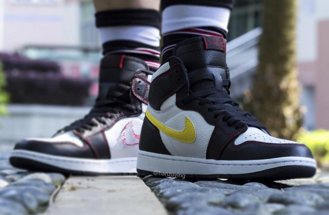 brand new 474c3 6dbf3 Air Jordan 1 Retro High OG Defiant Tour Yellow • KicksOnFire.com