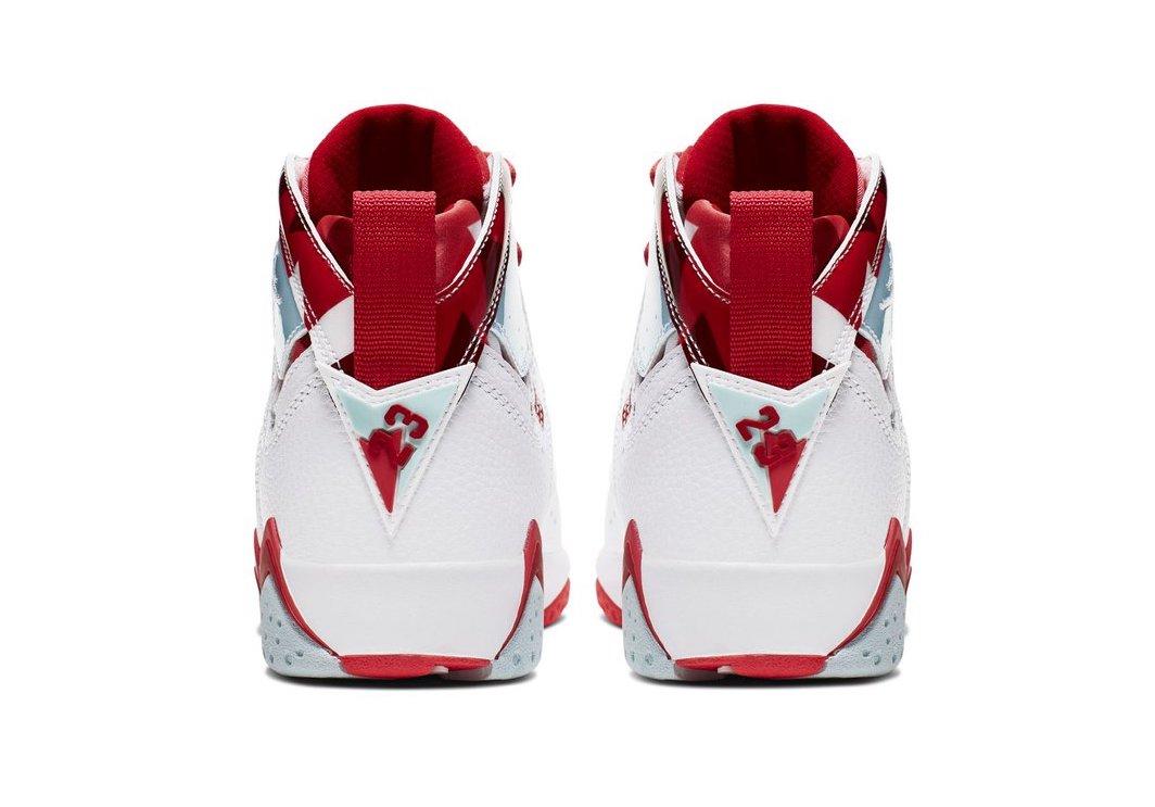 2019 Nike Air Jordan 7 VII Retro GS White Topaz Mist Red 442960-104 Pick Size