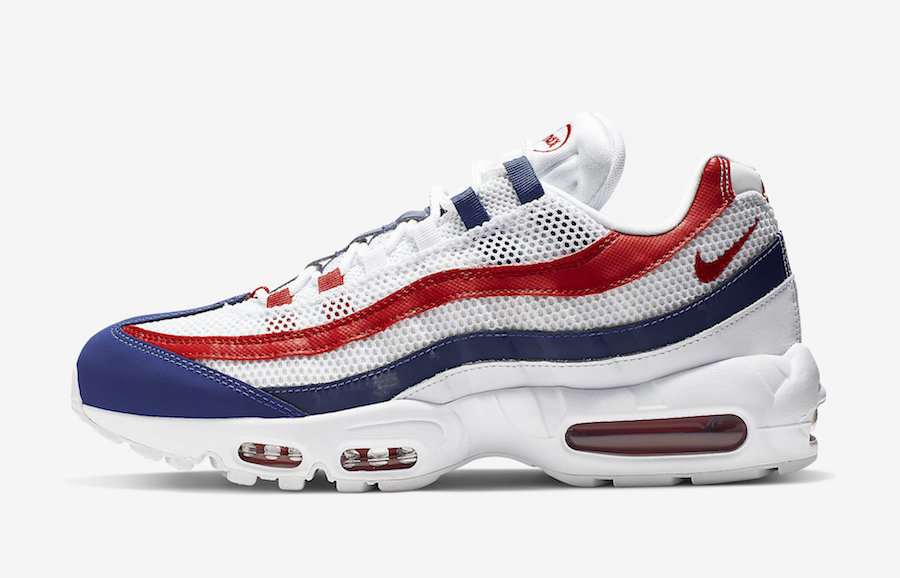 pretty nice e0b05 1adab Get Ready For Independence Day With This Nike Air Max 95 ...