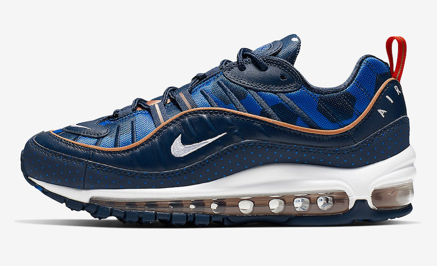 Dots & Hexagons Appear On This Nike Air Max 98 •