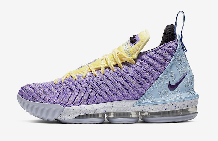 size 40 fe07f d52db Official Images: Nike LeBron 16 Lakers • KicksOnFire.com