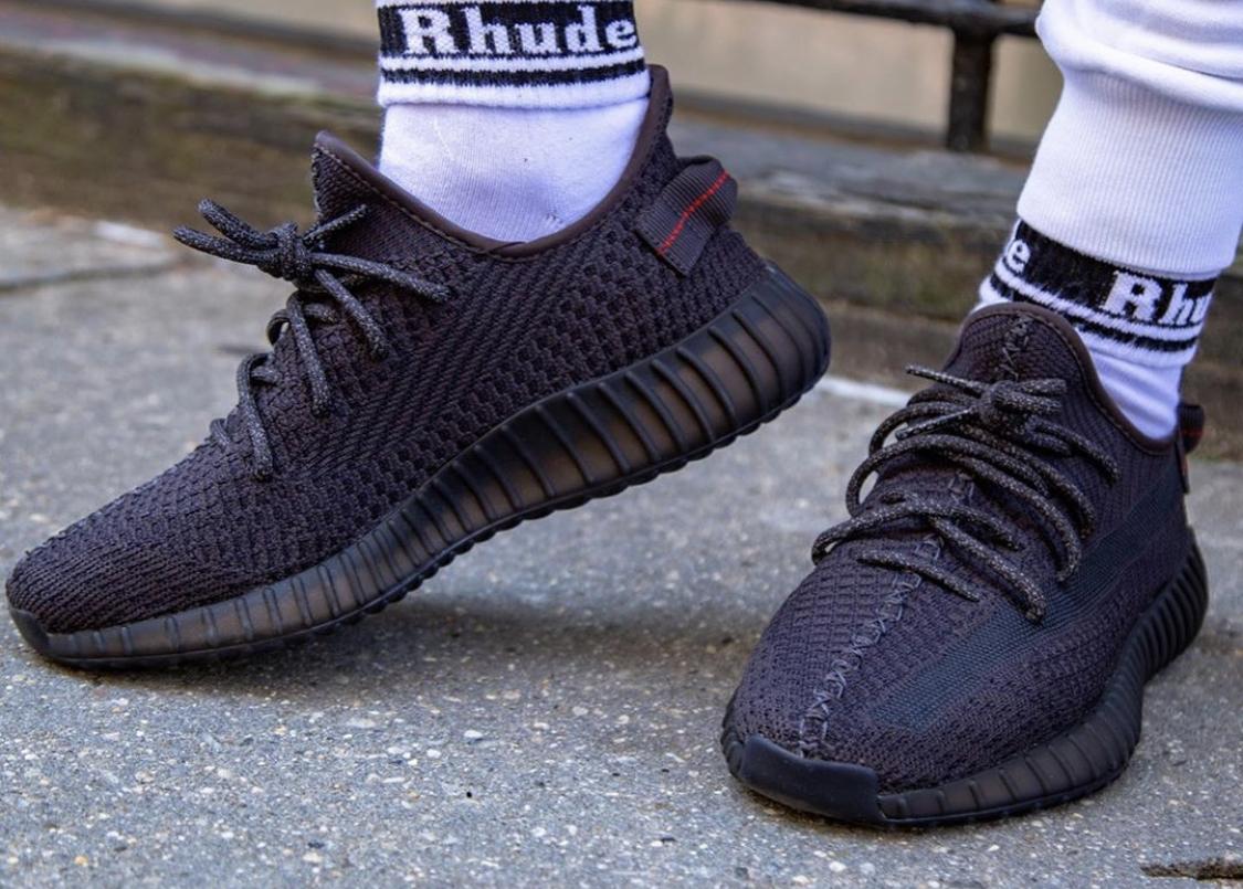 adidas Yeezy Boost 350 V2 Black (Non Reflective)